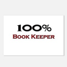 100 Percent Book Keeper Postcards (Package of 8)