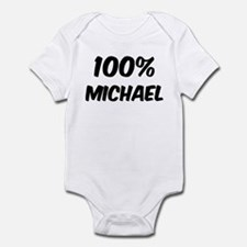 100 Percent Michael Infant Bodysuit