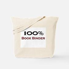 100 Percent Book Binder Tote Bag
