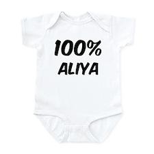 100 Percent Aliya Infant Bodysuit