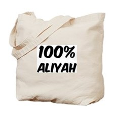 100 Percent Aliyah Tote Bag