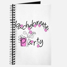 Pink Flowers Bachelorette Journal
