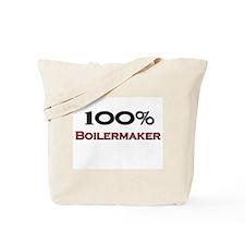 100 Percent Boilermaker Tote Bag