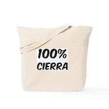 100 Percent Cierra Tote Bag