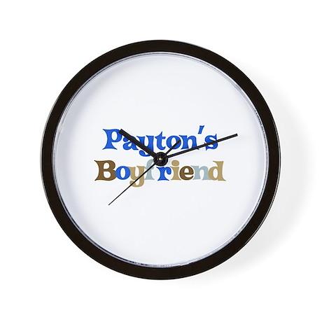 Payton's Boyfriend Wall Clock