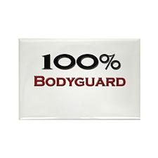 100 Percent Bodyguard Rectangle Magnet