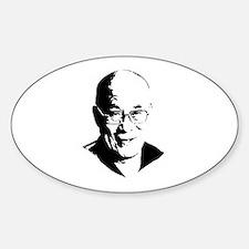 Dalai Lama Oval Decal