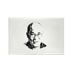 Dalai Lama Rectangle Magnet (100 pack)