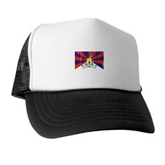 Tibetan Flag Trucker Hat