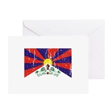 Tibetan Flag Greeting Card