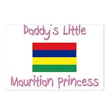 Daddy's little Mauritian Princess Postcards (Packa