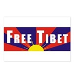 Free Tibet Postcards (Package of 8)