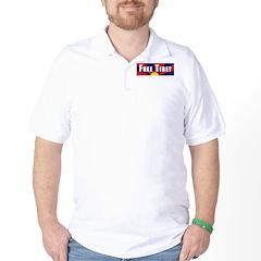 Free Tibet Golf Shirt