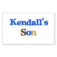 Kendall's Son Rectangle Decal