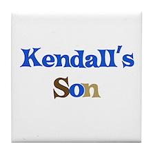 Kendall's Son Tile Coaster
