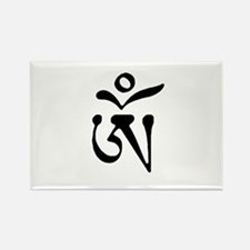 Free Tibet Rectangle Magnet
