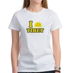 I Love Tibet Women's T-Shirt