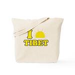 I Love Tibet Tote Bag