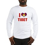 I Love Tibet Long Sleeve T-Shirt