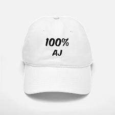 100 Percent Aj Baseball Baseball Cap