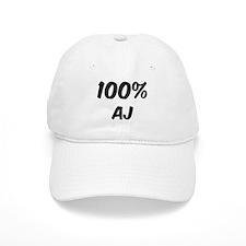 100 Percent Aj Baseball Cap