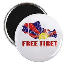 "Free Tibet 2.25"" Magnet (10 pack)"