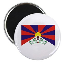 "Flag of Tibet 2.25"" Magnet (10 pack)"
