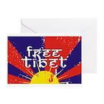 Free Tibet Greeting Cards (Pk of 20)