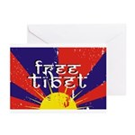 Free Tibet Greeting Cards (Pk of 10)