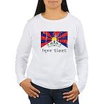 Free Tibet Women's Long Sleeve T-Shirt