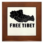 Free Tibet Framed Tile
