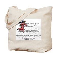 Whole Armour of God Tote Bag
