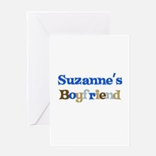 Suzanne's Boyfriend Greeting Card