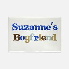 Suzanne's Boyfriend Rectangle Magnet
