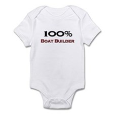 100 Percent Boat Builder Infant Bodysuit