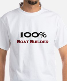 100 Percent Boat Builder Shirt