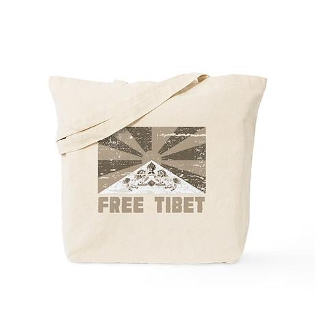 Free Tibet Tote Bag