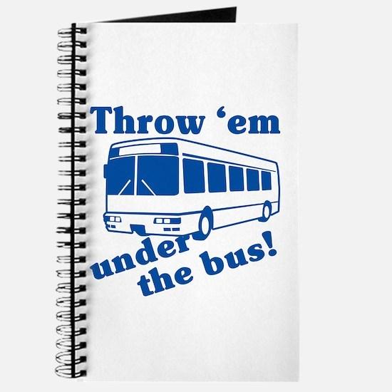 Throw Em Under The Bus Journal