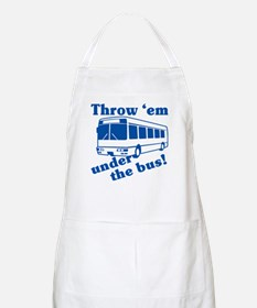 Throw Em Under The Bus BBQ Apron