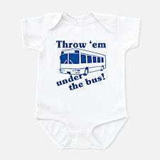 Throw Em Under The Bus Infant Bodysuit