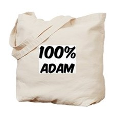 100 Percent Adam Tote Bag