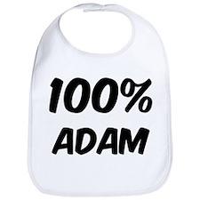 100 Percent Adam Bib
