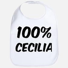 100 Percent Cecilia Bib
