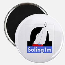 S1M Class Logo Round Magnet