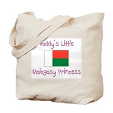 Daddy's little Malagasy Princess Tote Bag