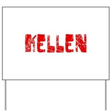 Kellen Faded (Red) Yard Sign