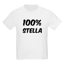 100 Percent Stella T-Shirt