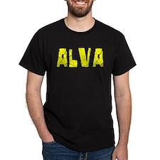 Alva Faded (Gold) T-Shirt