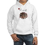 LOVE MY CATS Hooded Sweatshirt