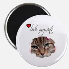 LOVE MY CATS Magnet